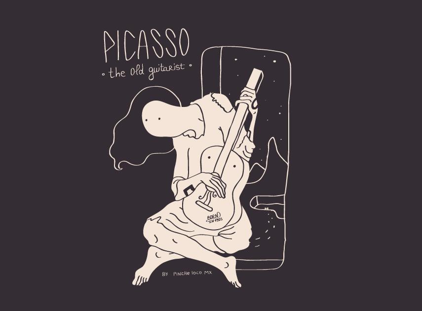Picasso por Pinche Loco