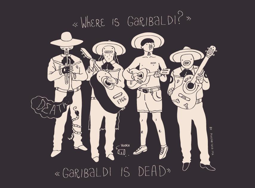 Where is Garibaldi? por Pinche Loco