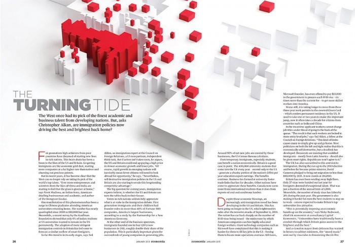 Economía Magazine por Lobulo Design