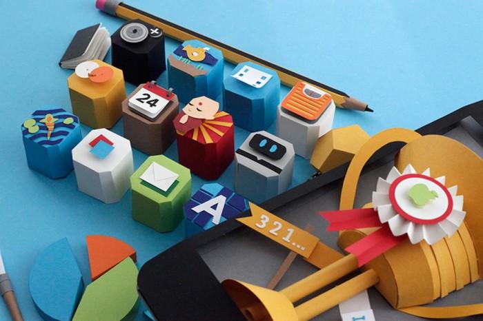 """Diseño de portada del libro """"Idea to iPhone"""" de Carla White, por Lobulo Design"""
