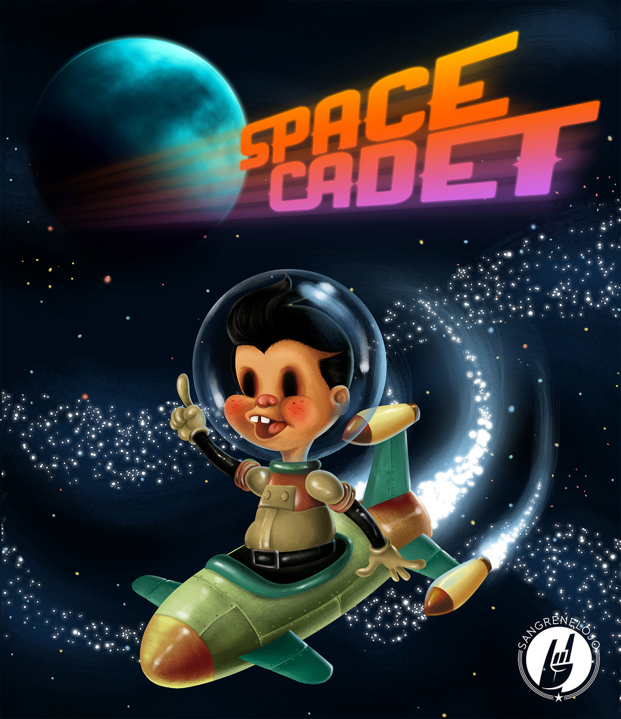Space Cadet por MarcoVillar