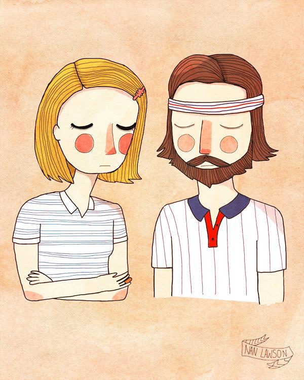 """Secretly in Love"" por Nan Lawson"