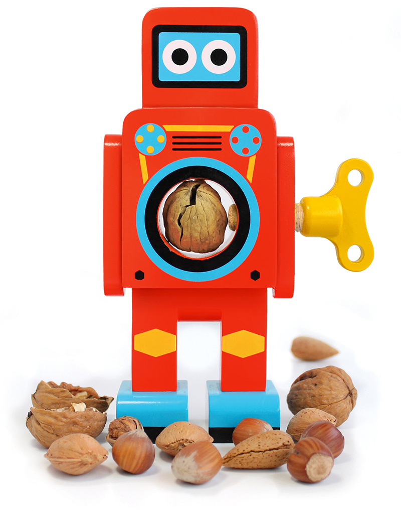 Robots Cascanueces por Matthias Zschaler