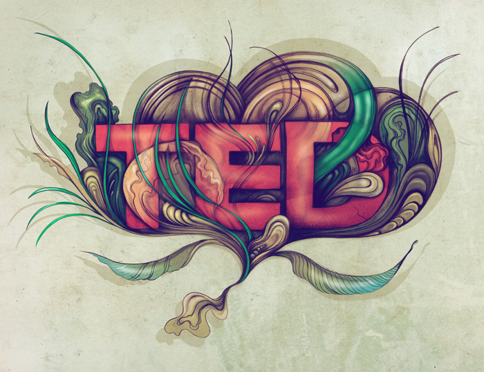Ilustración para TEDx por Sara Blake