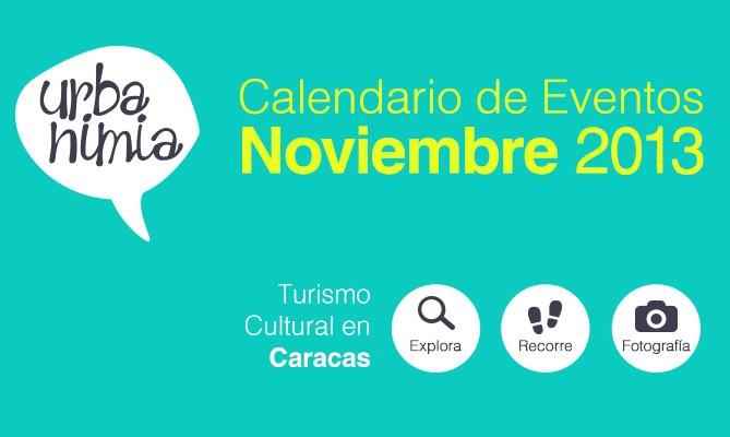 Urbanimia - Calendario Eventos Noviembre 2013