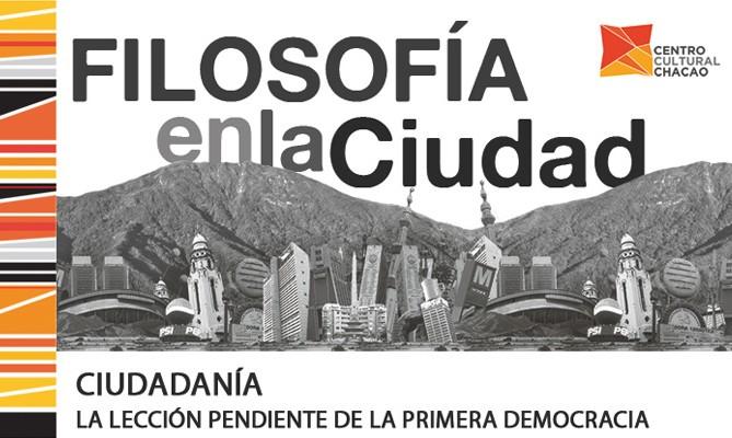 Filosofía en la Ciudad - Octubre 2013