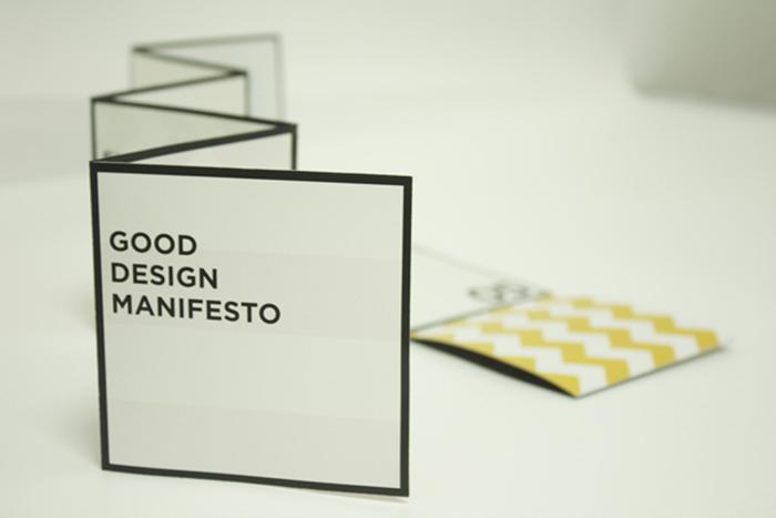 Good Design Manifesto