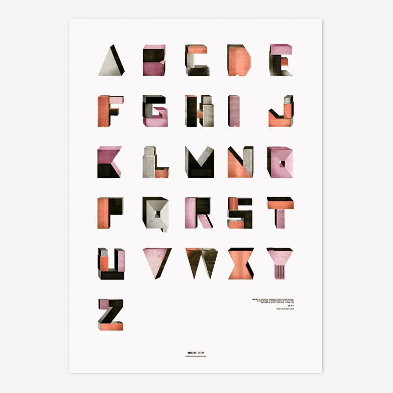 """""""ABCity"""" (2009) por Borja Bonaque. Cliente: Proyecto Personal"""