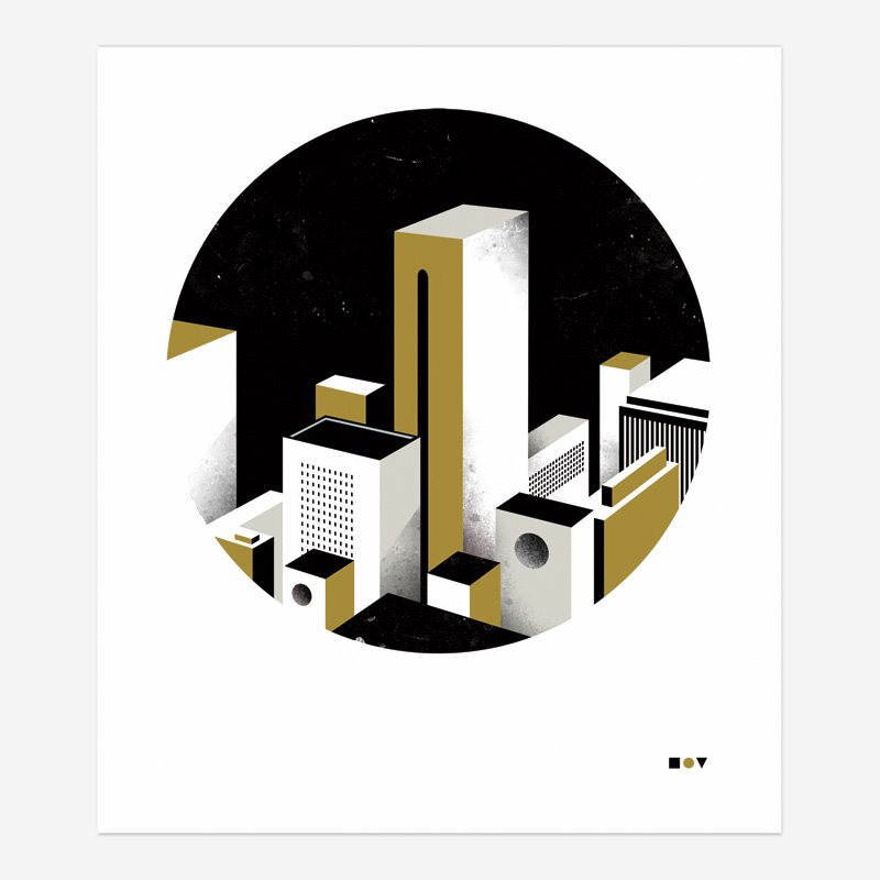 """Square, Circle, Triangle"" (2011) por Borja Bonaque. Cliente: Proyecto Personal"