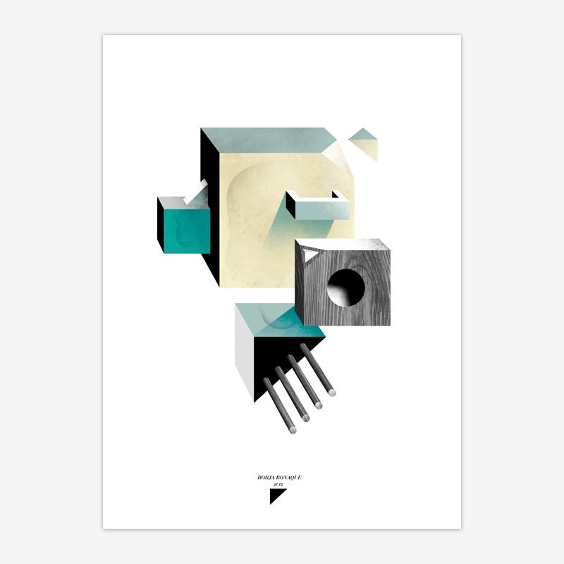 """Seven Publishing"" (2012) por Borja Bonaque. Cliente: Seven Publishing"