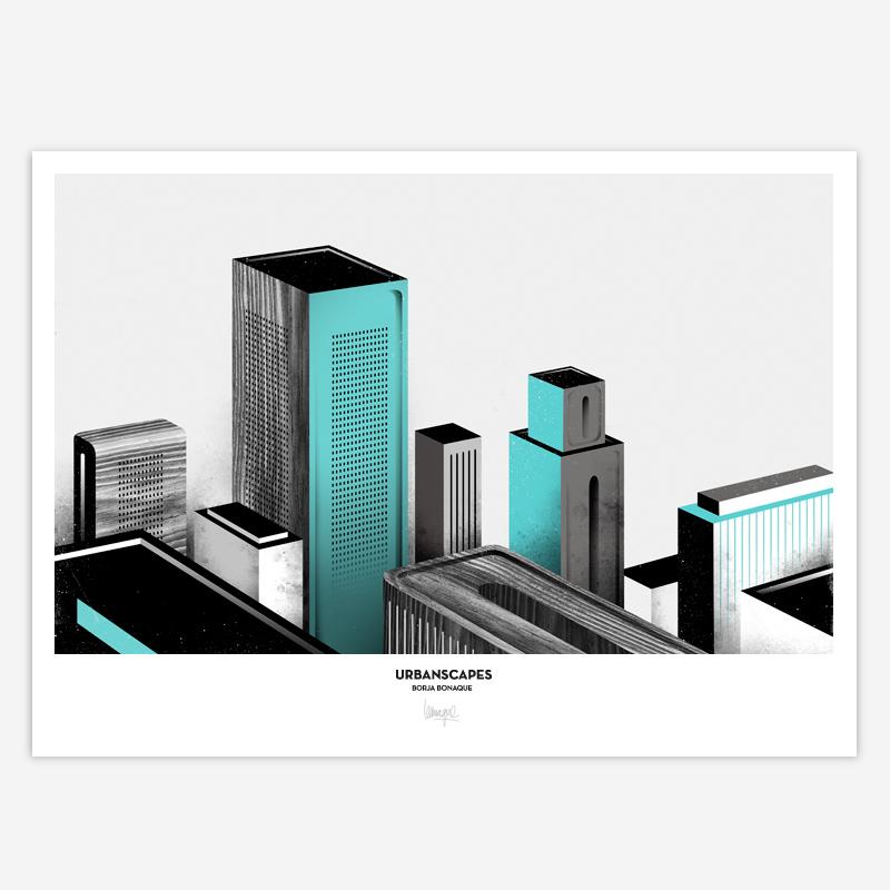 """""""Urbanscapes"""" (2012) por Borja Bonaque. Cliente: Proyecto Personal"""