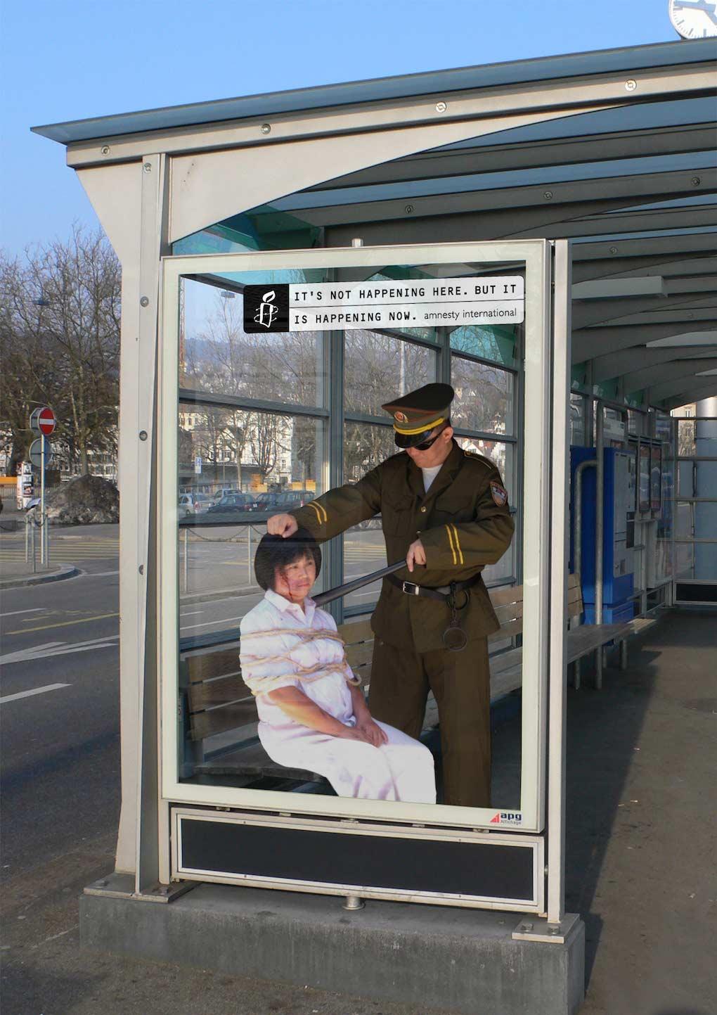 Campaña Amnistía Internacional - No está sucediendo aquí (China)