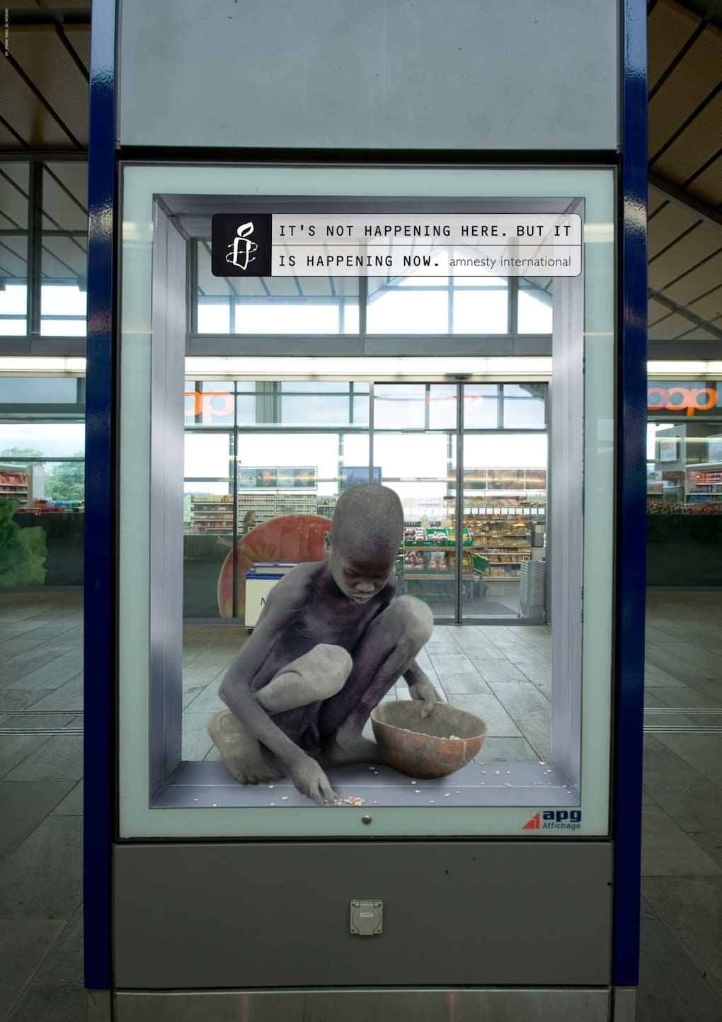 Campaña Amnistía Internacional - No está sucediendo aquí (Sudán)