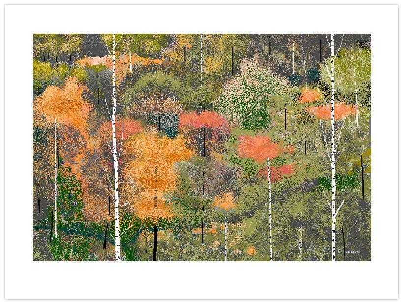 Treescape por Hal Lasko