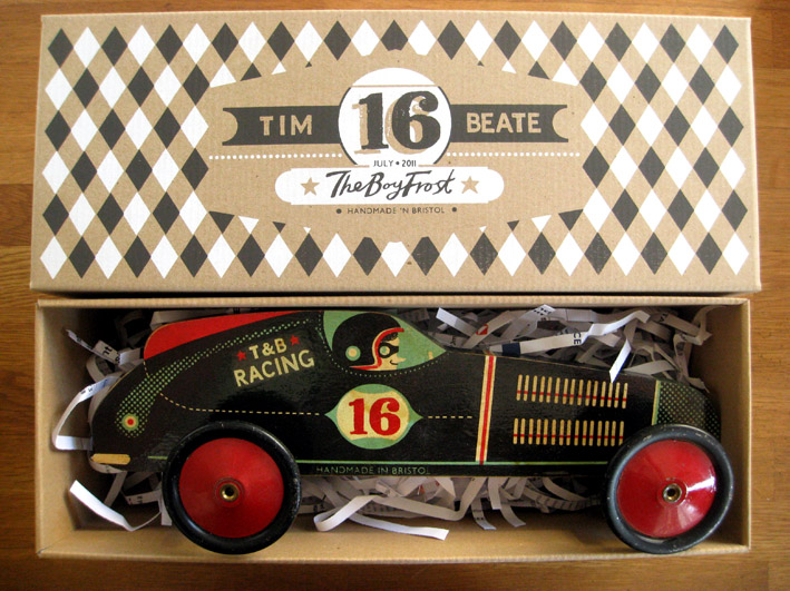 The Boy Frost - T&B Racing Car
