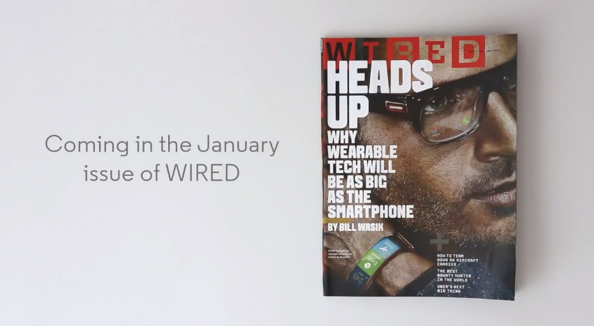 Moto X - Aviso Interactivo Revista Wired (Enero 2014)