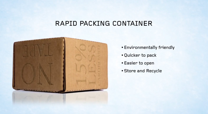 Rapid Packing Container