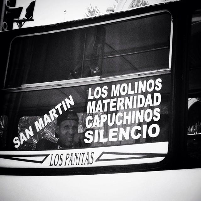 """Camionetica """"Los Panitas"""" (Caracas). Foto @gabyrela"""