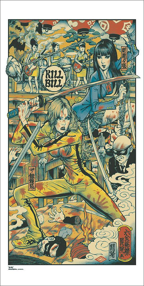 Kill Bill Poster por Rockin' Jelly Bean