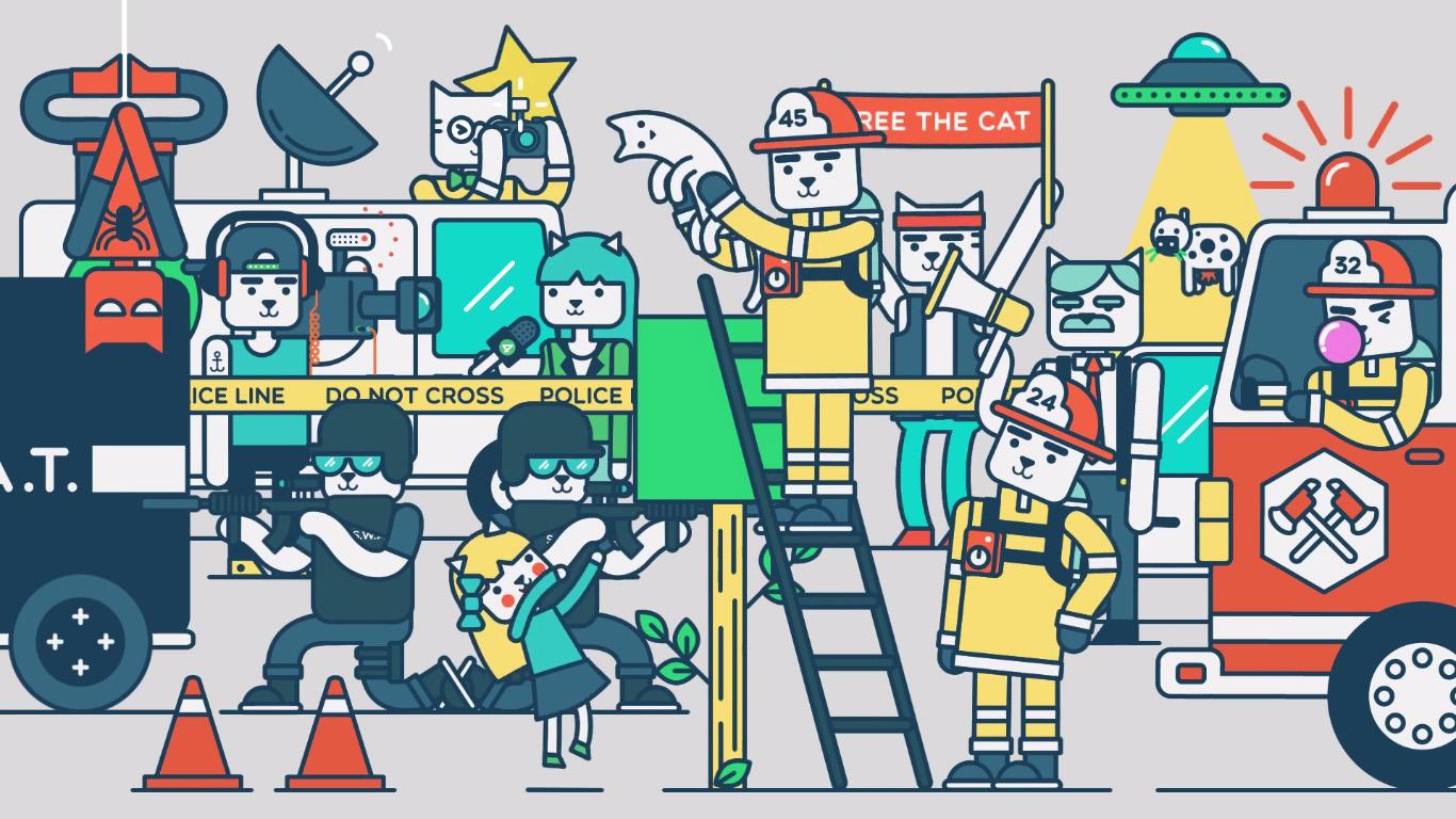Animaciones por Markus Magnusson