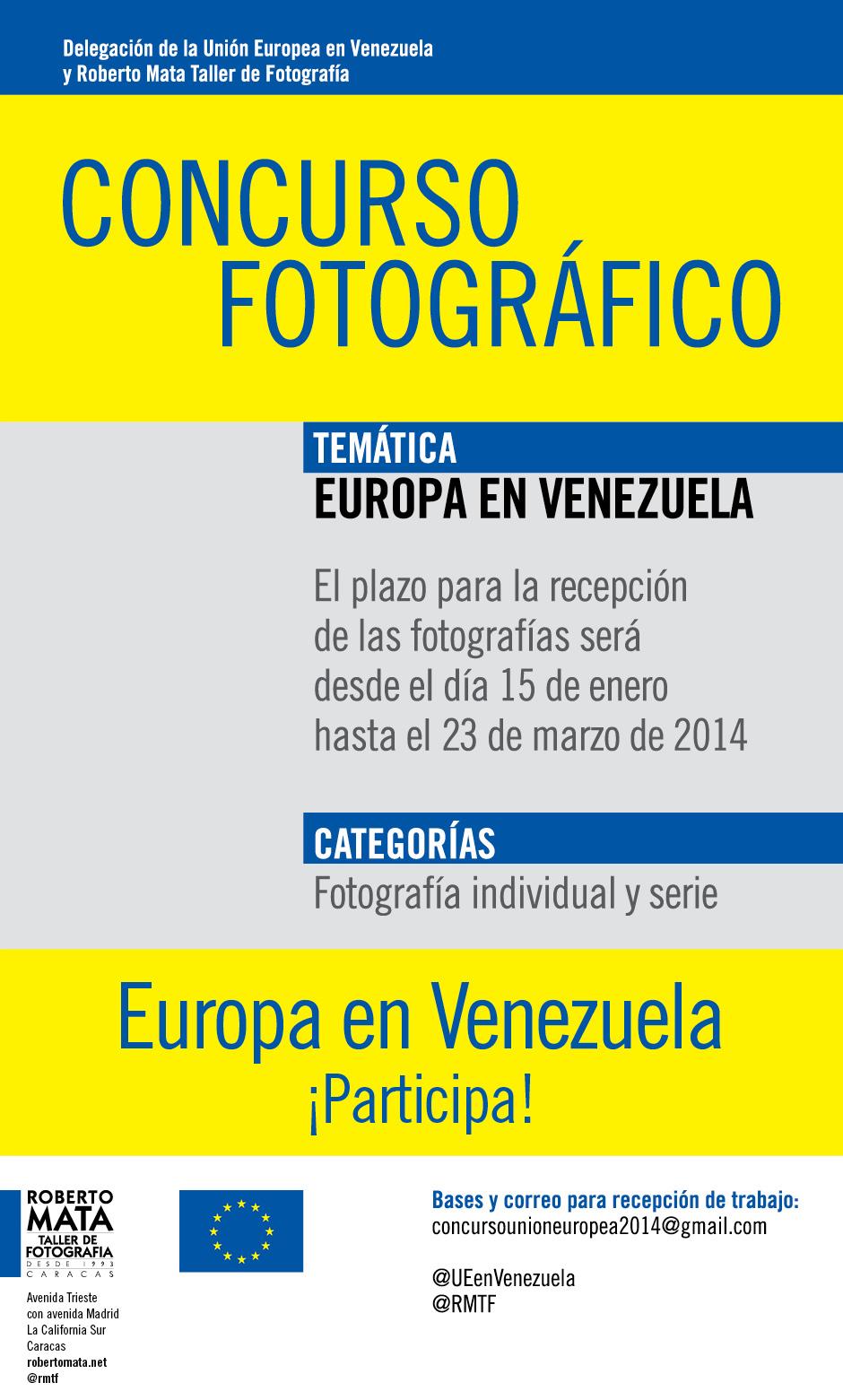 Concurso de Fotografía Europa en Venezuela