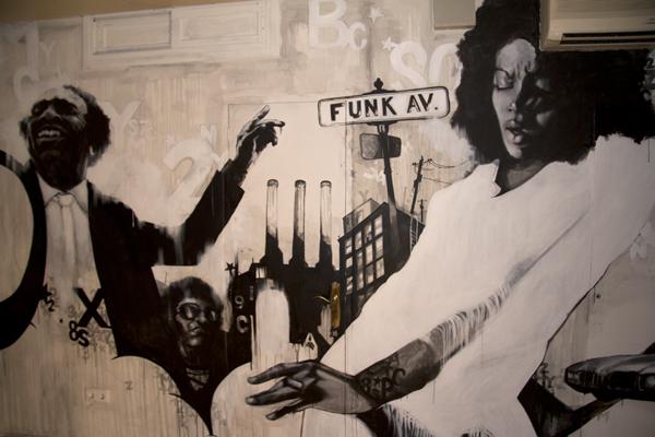 Aleix Gordo Hostau - Mural para La Bodega de l'Onze
