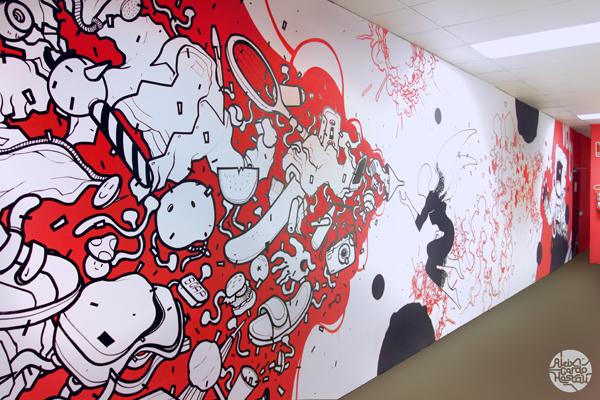 Aleix Gordo Hostau - Mural para Velcro Europa