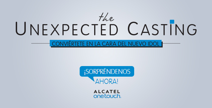 Alcatel: Concurso de Selfies Casting Inesperado