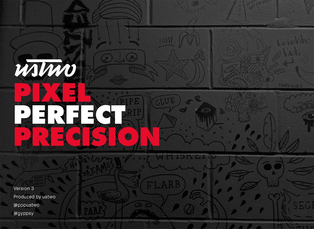 """Pixel Perfect Precision"" 3ra Edición, por USTWO"
