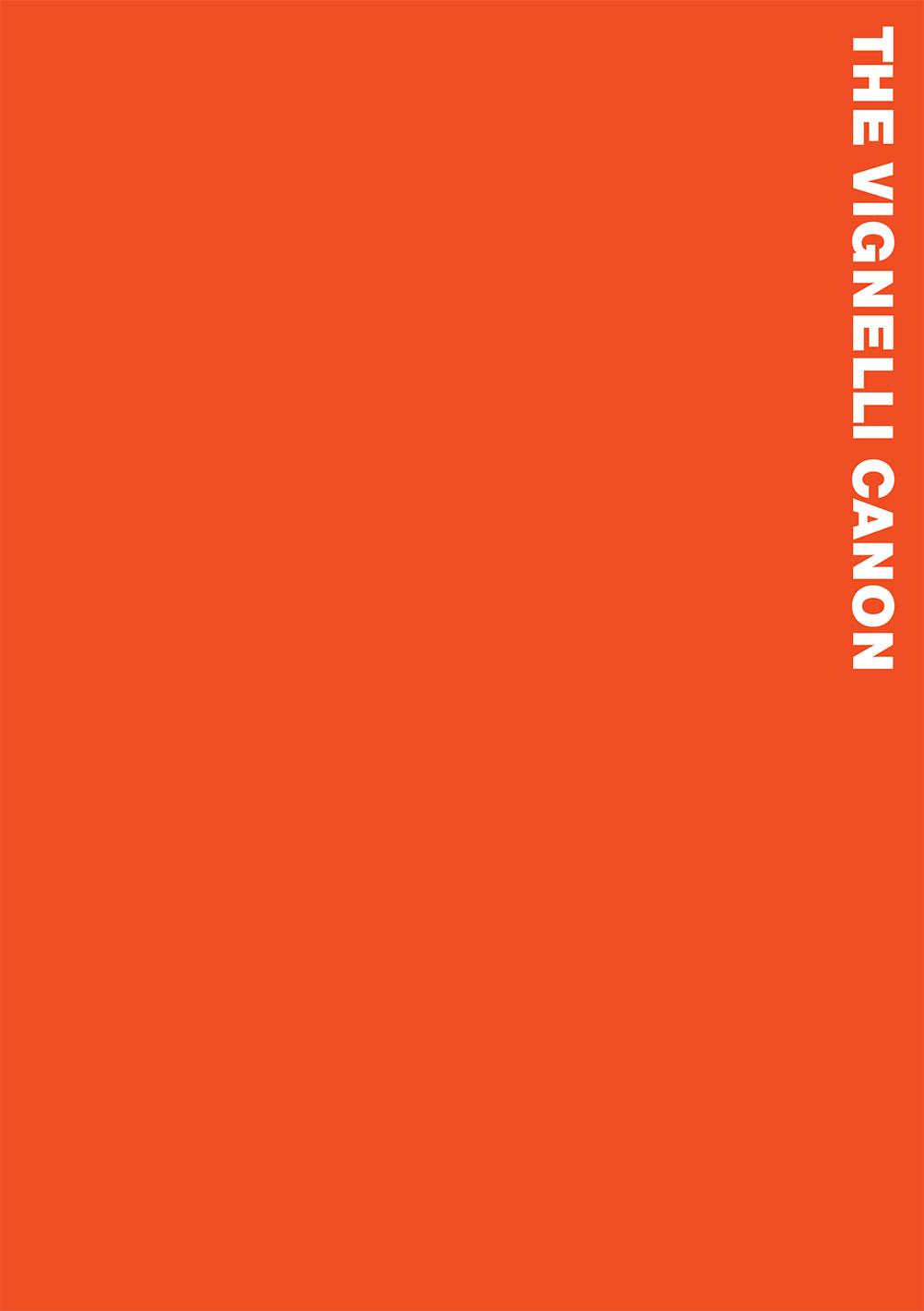 The Vignelli Canon (El Canon de Vignelli) por Massimo Vignelli