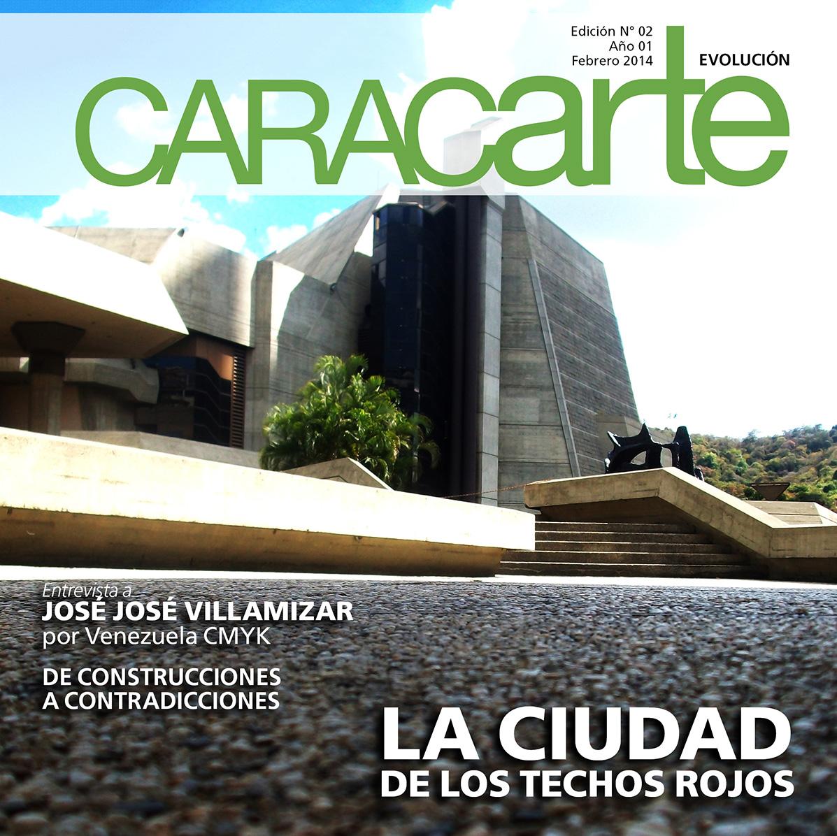 Revista Caracarte: Evolución