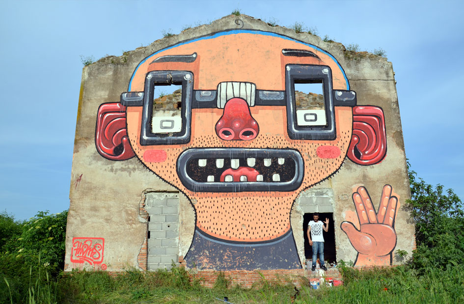 NERD POWER (Roma, 2013) por Mr. Thoms