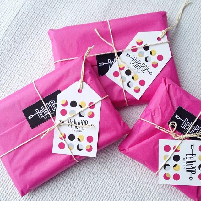 Empaques coloridos y artesanales por BelloPop