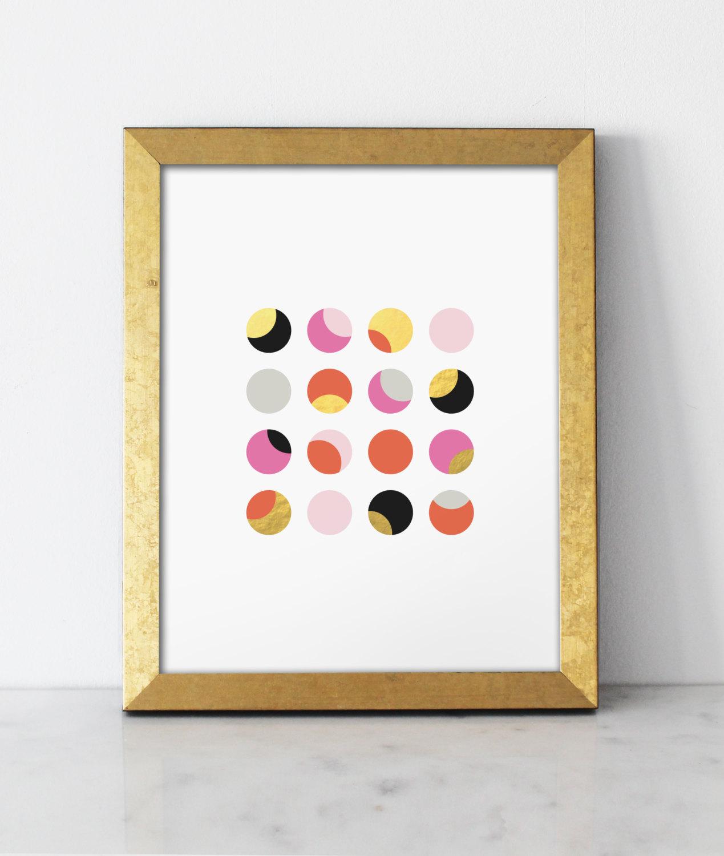 Impresos en tinta y papel de oro, por BelloPop