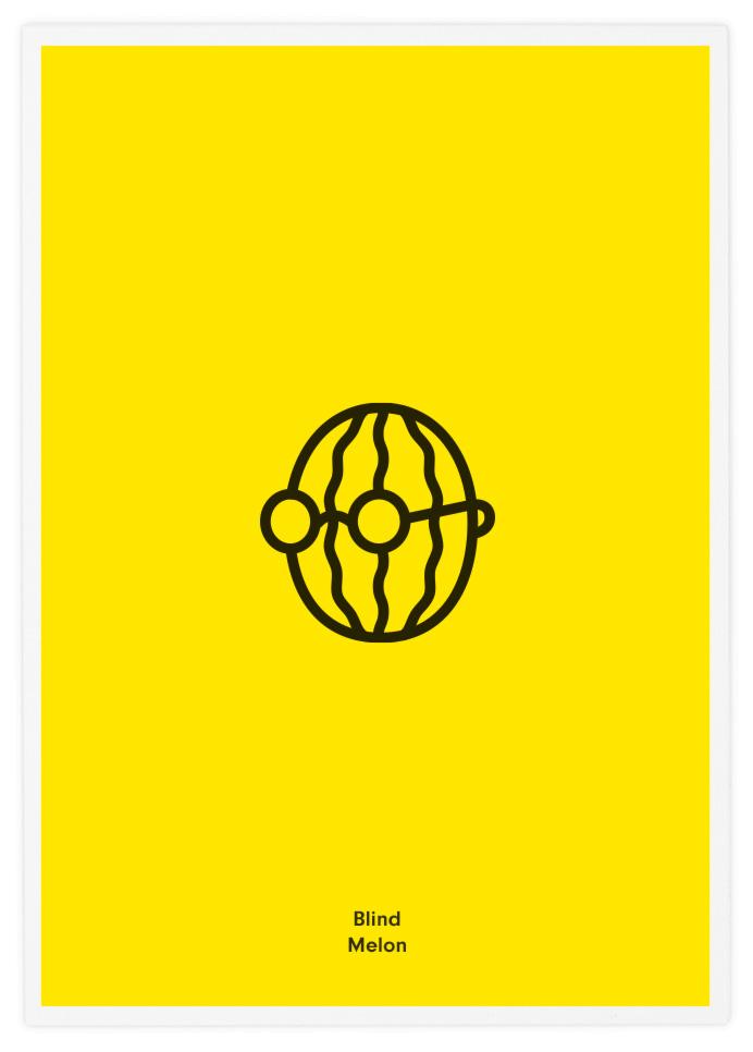 """Blind Melon"" poster por Tata&Friends"
