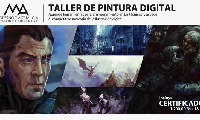Taller Pintura Digital - RamonN90