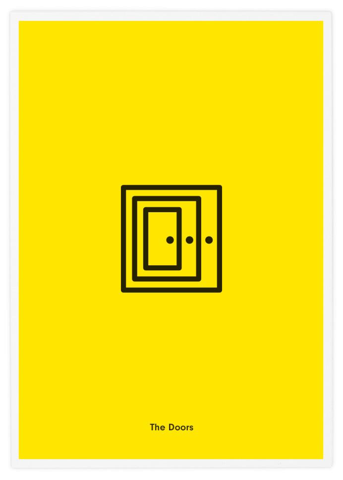 """The Doors"" poster por Tata&Friends"