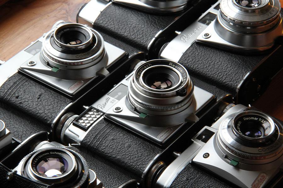 Colección de Cámaras Kodak. Foto por TempusVolat