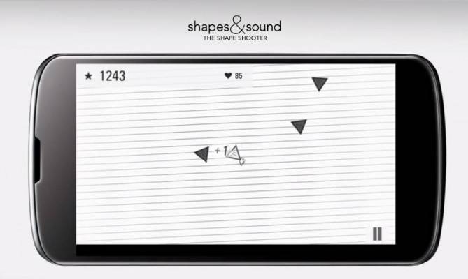 Shapes and Sound: The Shape Shooter Android