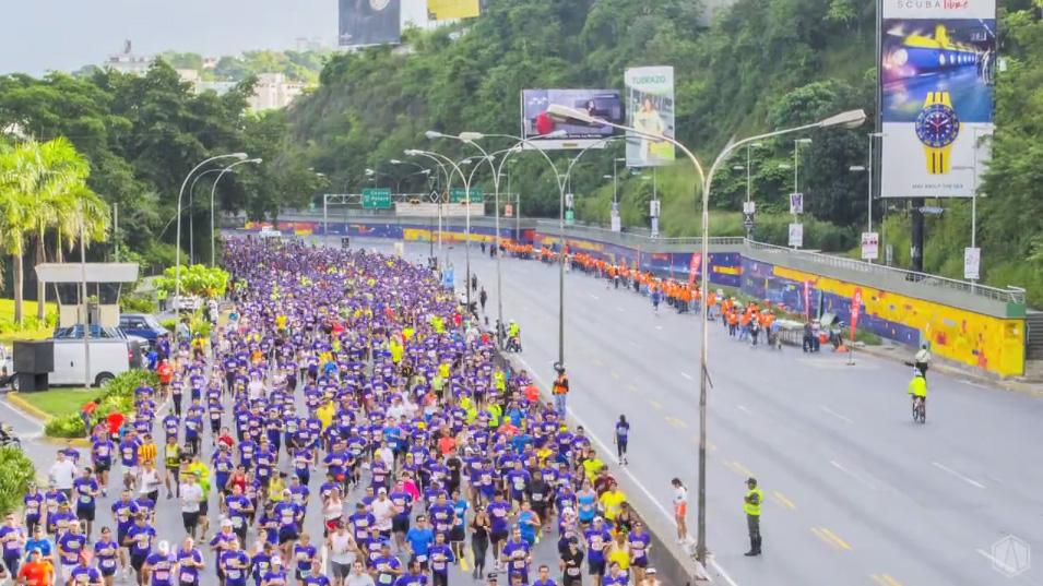 Caracas Activa - Maratón en la Autopista Francisco Fajardo
