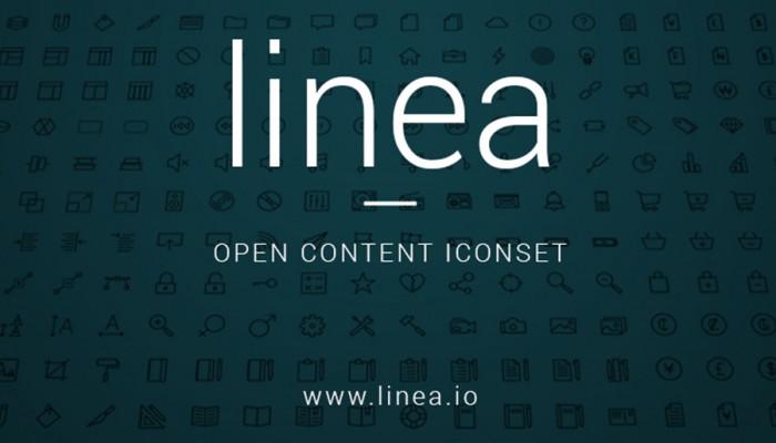 Linea: colección de 160 iconos vectoriales