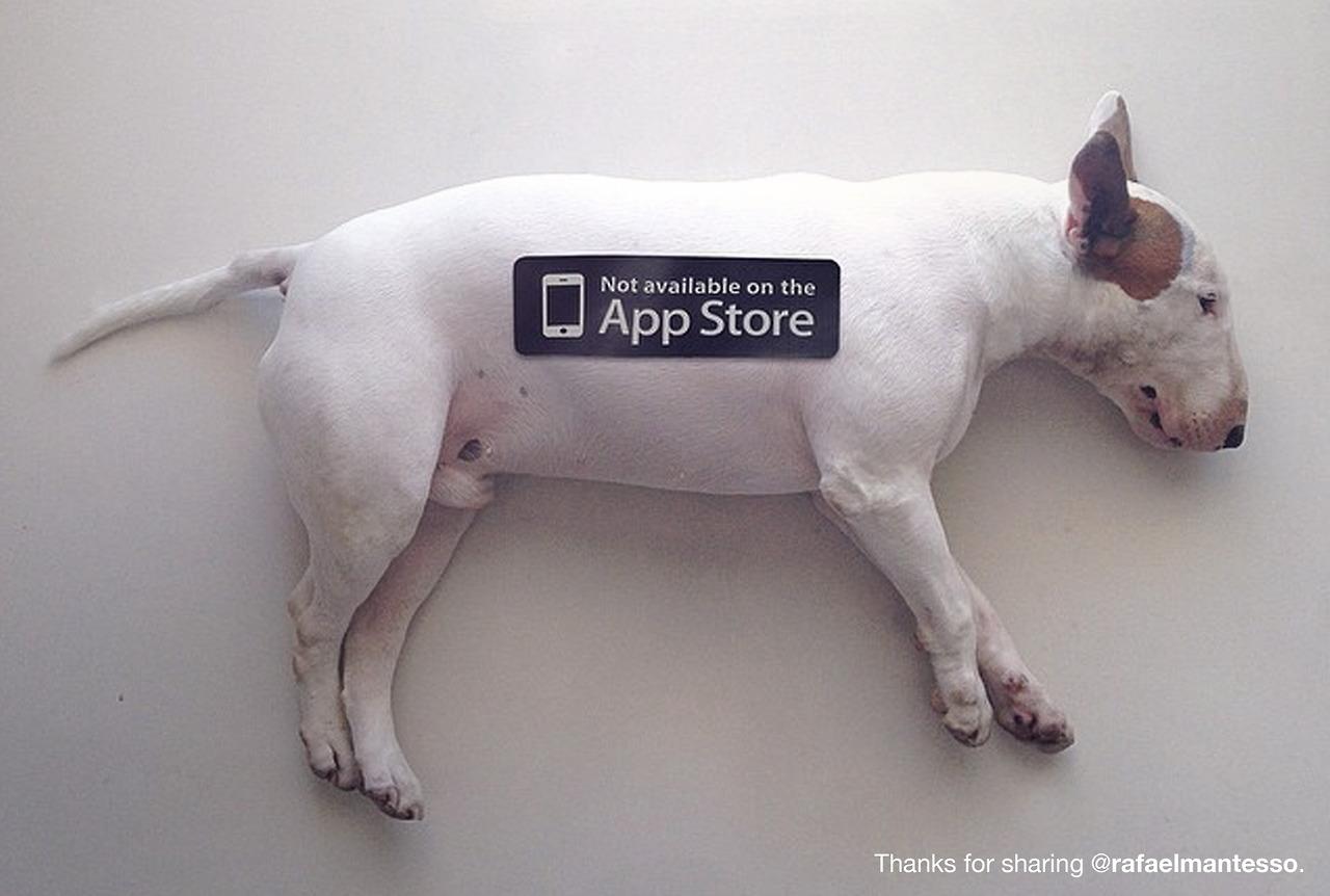 No Disponible en la App Store 6