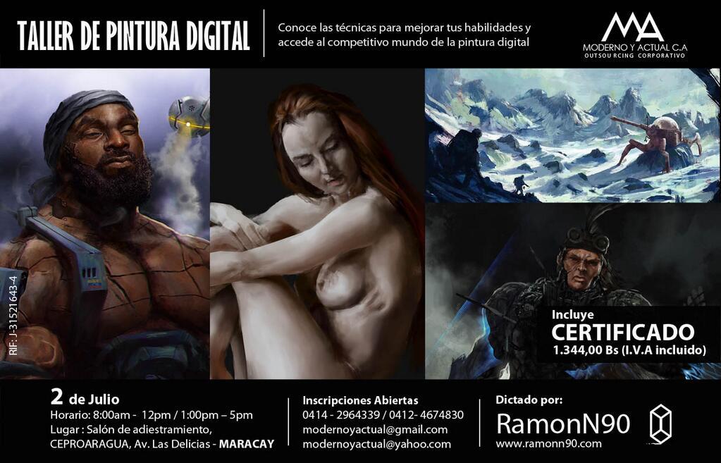 Taller de Pintura Digital - RamonN90 - Julio 2014