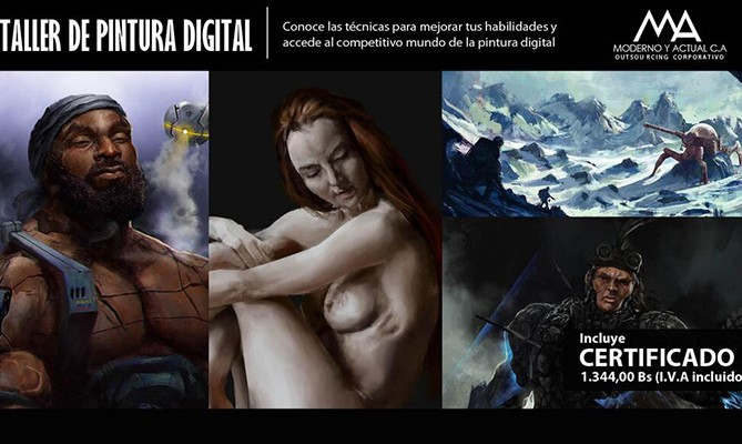 Taller de Pintura Digital - RamonN90 - Julio (Cover)