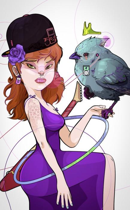 Ilustraciones de Andrés Ariza