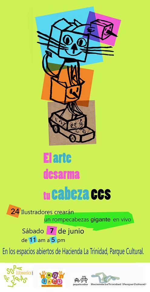 El Arte Desarma tu Cabeza - Caracas 2014