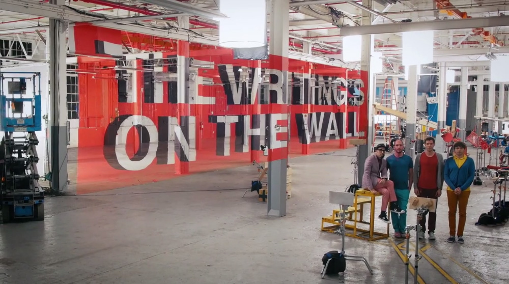 OK GO - The Writing's On The Wall