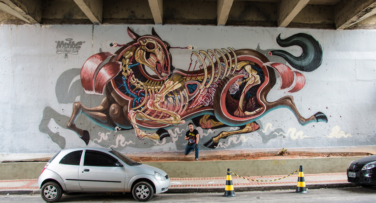 """""""Horsepower"""" por Nychos (Sao Paulo, 2014)"""