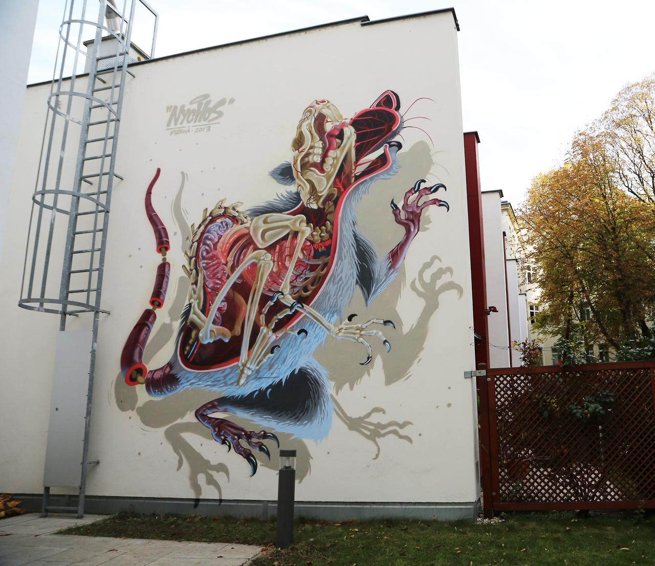 """""""Snake Bait"""" por Nychos (Viena 2013)"""