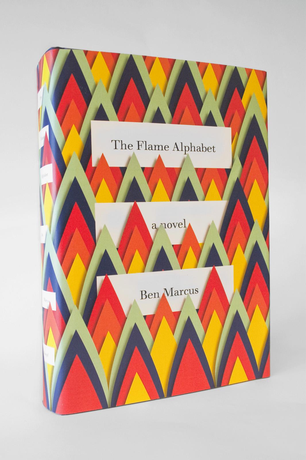"""The Flame Alphabet"" Ben Marcus (diseño de cubierta por Peter Mendelsund)"
